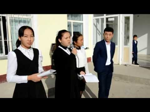 Kazygurt Access Alumni - Informaing upcoming FLEX program in Shymkent.