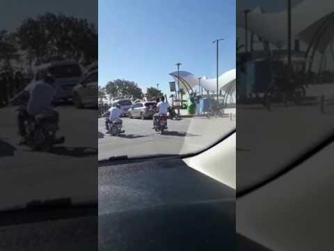 Trafikte tehlikeli haraketler