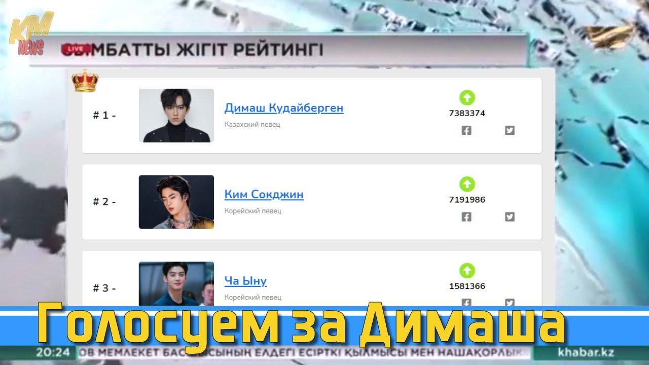 📣Голосуем за Димаша Кудайбергена Новости Казахстана  ✯SUB✯