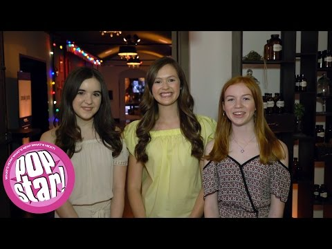 "Olivia Sanabia, Abby Donnelly, & Aubrey Miller talk ""Just Add Magic"" - POPSTAR"