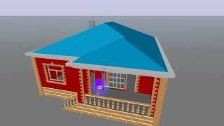 Elxan Tağıyev Ev Plani, Home Plans проект Layihə Planı Red Colour, Color