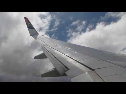 Landing in Lusaka