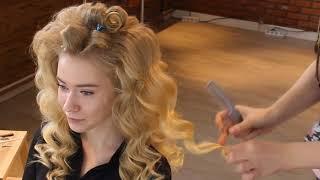 видео Волны на волосах как делать