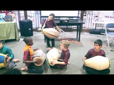 TKG Academy - Mrdanga Drum Presentation - Barnes and Noble 6/9