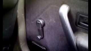 Como cambiar maneta del elevalunas manual del coche