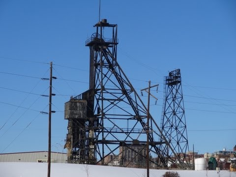 Mining Headframe Butte Montana Historic Copper Mining Town Berkley Pit Video Review Viewing Area