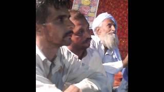Allama Farooq Ul Hassan Qadri at Madina chowk Maan Kasur