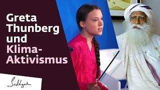Sadhguru spricht über Greta Thunberg und Klima Aktivismus