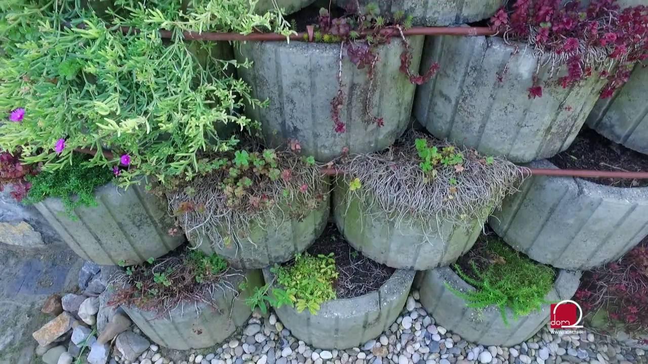Terase kao ideja za uređenje neravnog tla - YouTube