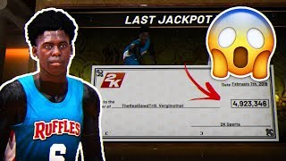 I HIT JACKPOT AND BECAME THE RICHEST MAN ON NBA 2K19 😳 (MUST WATCH!!)