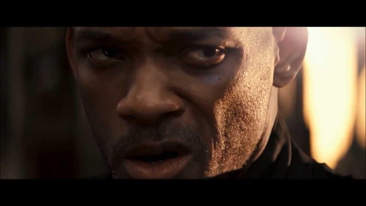 I Am Legend Superman vs Batman billboard teaser - YouTube