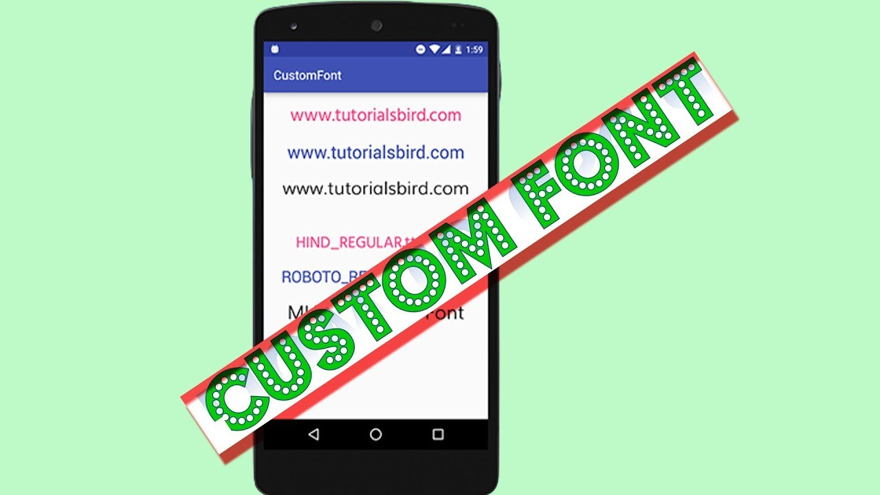 font style download for android mobile