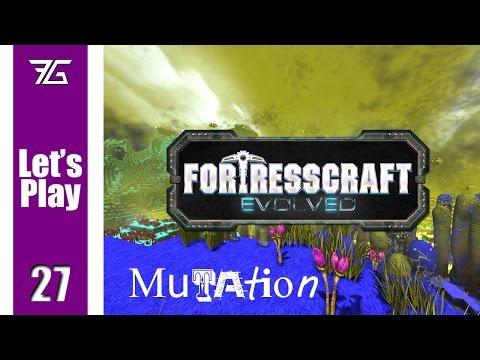 FortressCraft Evolved : Mutation - Ep 27 Organic Setup