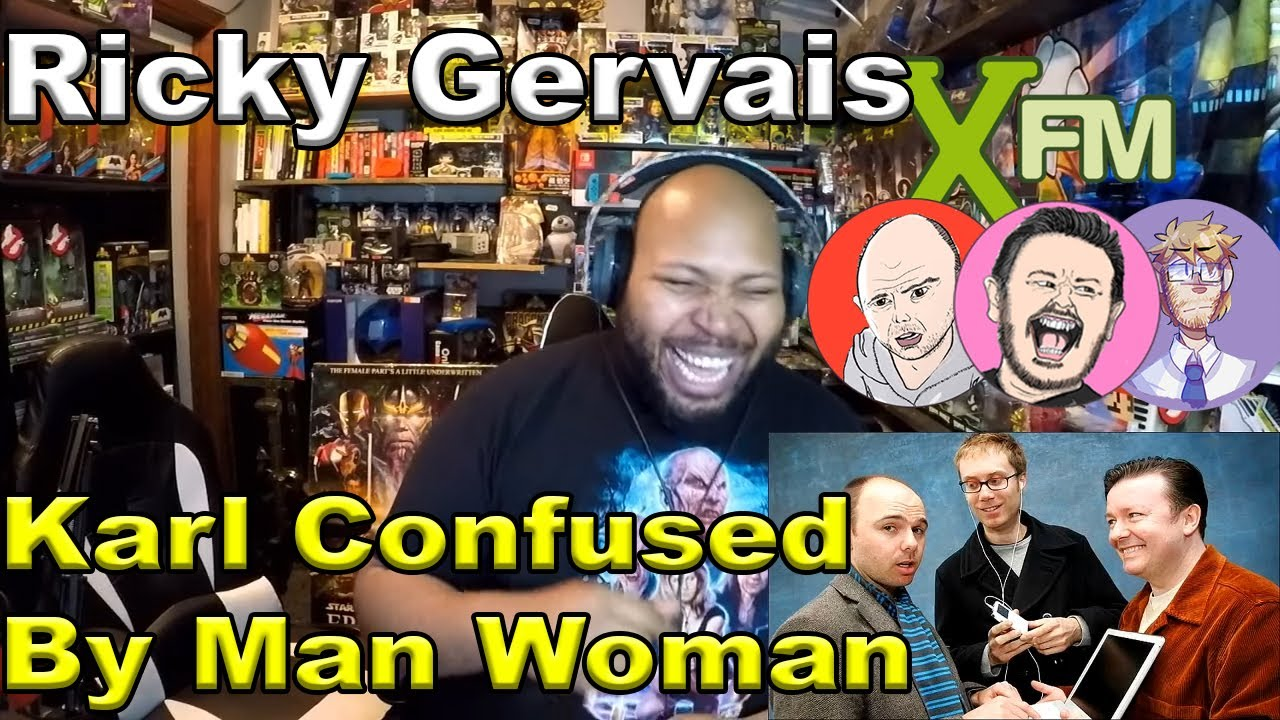 XFM - Karl Confused By Man Woman Reaction