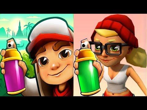 Subway Surfers JAKE vs TRICKY Subway Run Gameplay HD