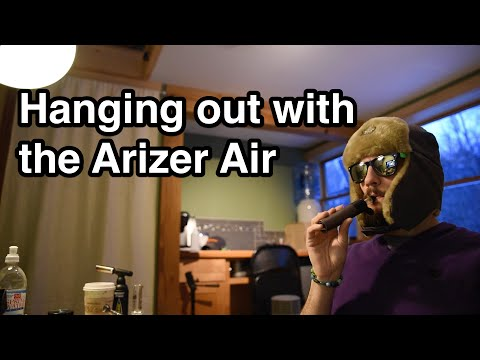 Arizer Air Demo Session | Portable Weed Vaporizer