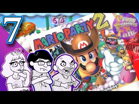 Mario Party 2, Ep. 7: Lovely Lever - Press Buttons 'n Talk