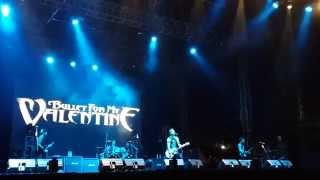 Bullet For My Valentine - Creeping Death (Jakarta Hammersonic 2014)