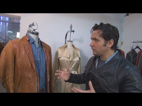 See Allan Hawco's groovy '70s wardrobe from Caught