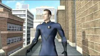Fantastic Four: Rise of the Silver Surfer (PlayStation 3) Trailer