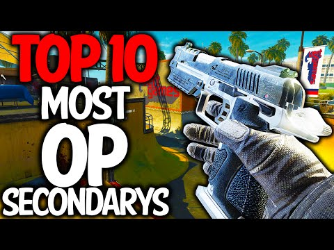 """""""MOST OVERPOWERED SECONDARY"""" In Cod History (Top Ten - Top 10) Call of Duty"""