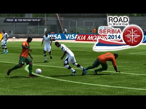 Gambia Vs. Zambia | Road To World Cup Serbia 2014 | FIFA 13