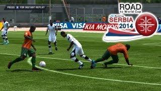 Gambia vs. Zambia | Road To World Cup Serbia 2014 | FIFA 13