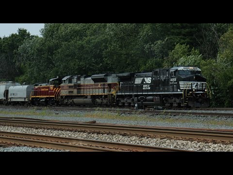 2017 Train Watching in Ohio - Day 5 Final,  Berea, OH (9/4/2017)