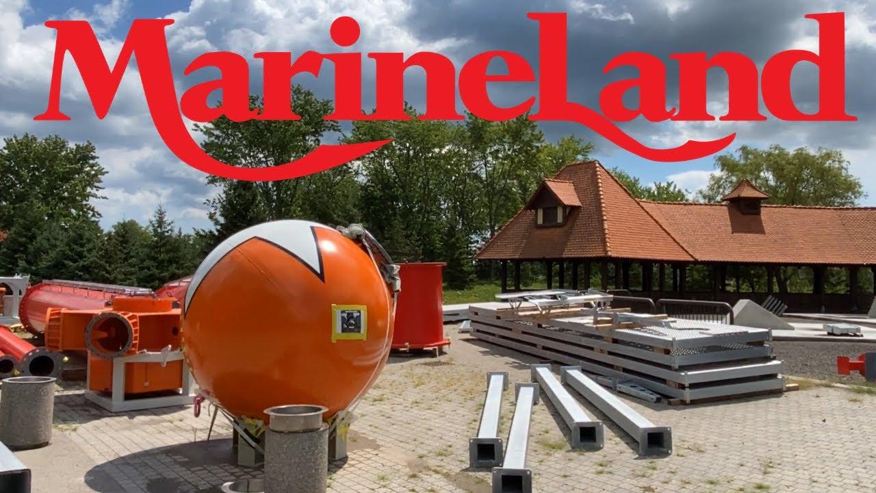 Marineland New Rides Construction Update