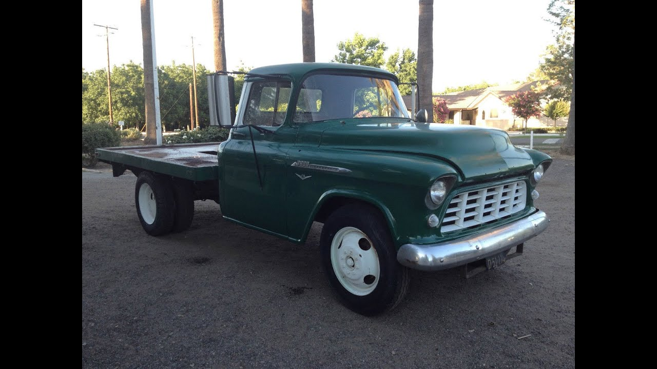 1956 Chevy 3800 Kingpins And Bushings 1 Youtube