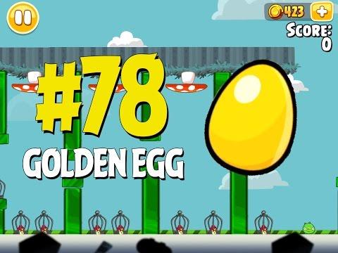 Angry Birds Seasons Piggywood Studios, Part 1! Golden Egg #78 Walkthrough