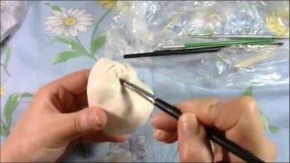 Мастер Класс по изготовлению куклы из запекаемого пластика.
