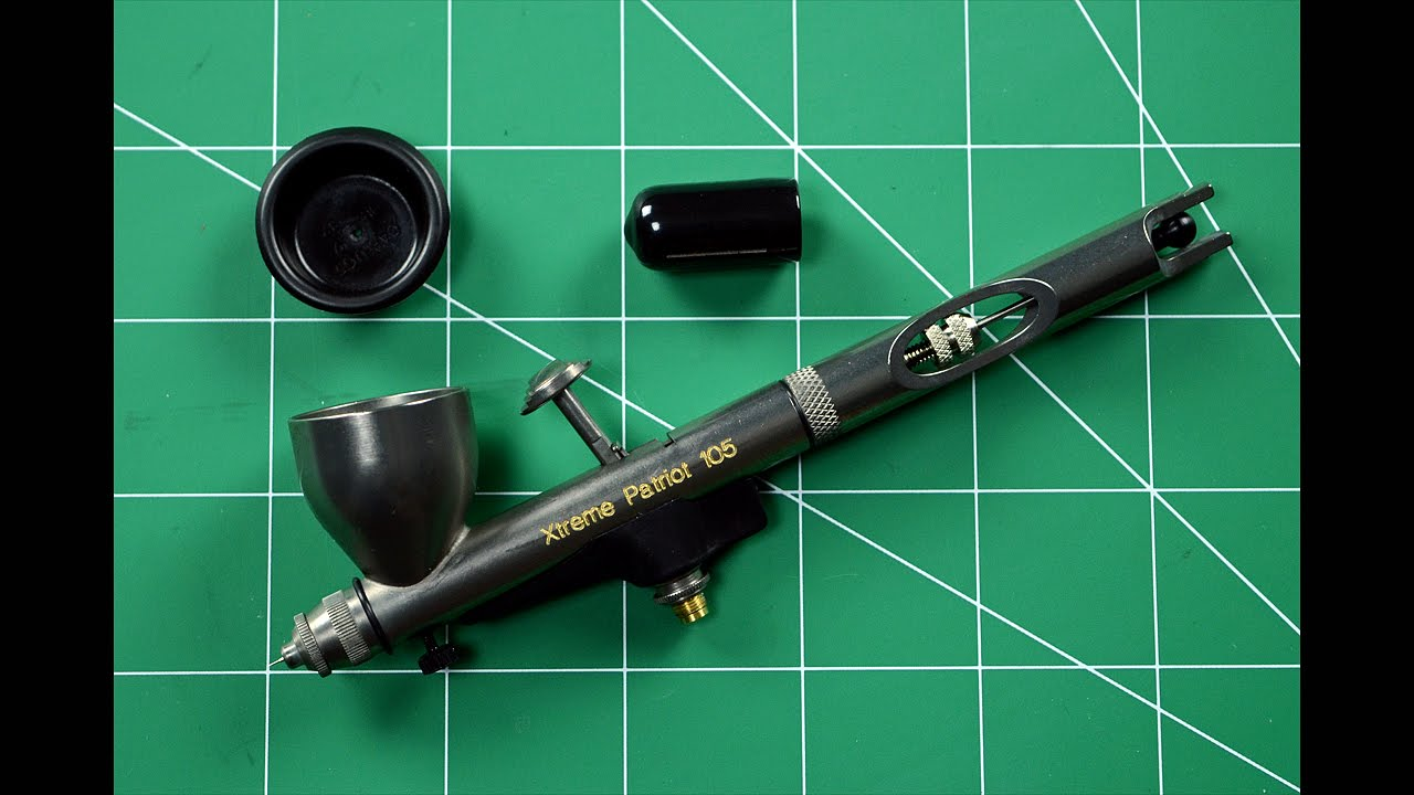 PATRIOT XTREME AIRBRUSH BADGER 105-XTR GRAVITY FEED AIRBRUSH