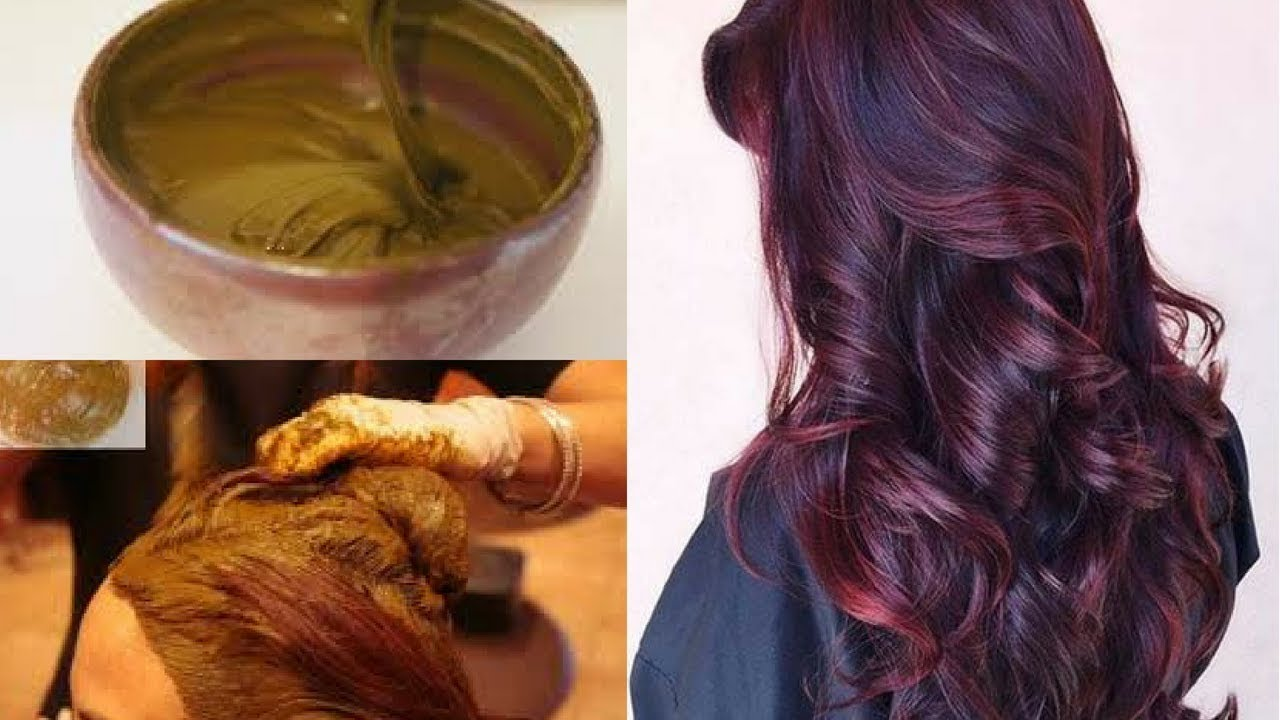 How To Get Burgundy Color With Henna How To Colour Hair Burgundy