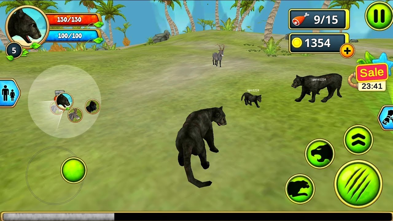 Panther Family Sim Online Android Gameplay