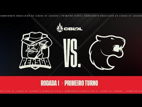 VOD: Rensga vs FURIA - CBLOL Split 1 - BO1