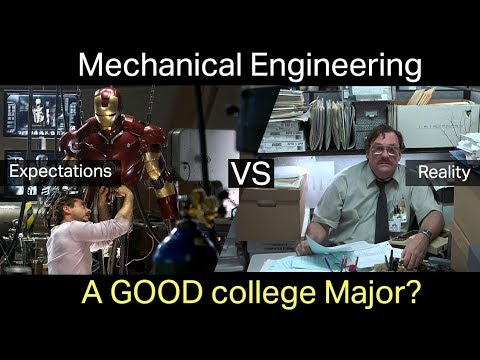Mechanical Engineering: a GOOD college major? My Experience and why I DON'T use my degree.