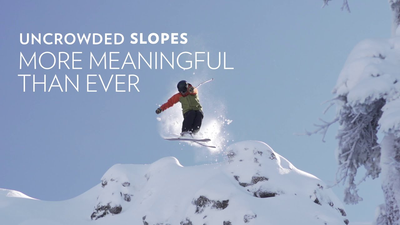 Uncrowded Slopes, More Meaningful Than Ever (30s)
