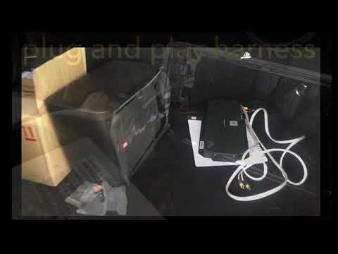 Mercedes Benz A class audio system upgraded