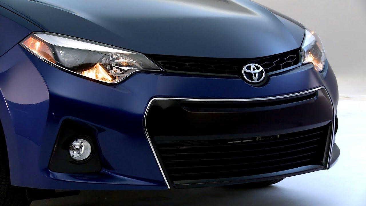 All New 2014 Toyota Corolla S Design Youtube