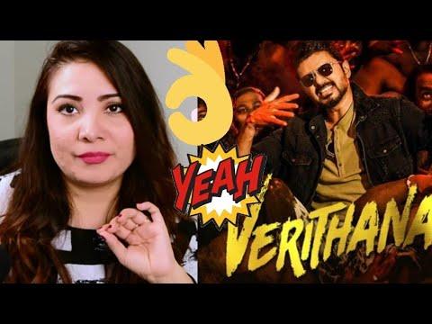 Bigil   Verithanam  Song Reaction By Sonia Haymon   Thalapathy Vijay