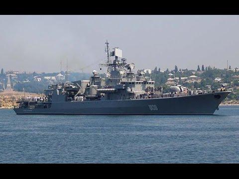Флагман 'Сагайдачный' спасался из Крыма через воды Болгарии