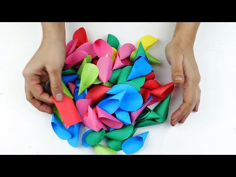 Craft idea with Paper for Decoration Your Home - wall hanging craft ideas