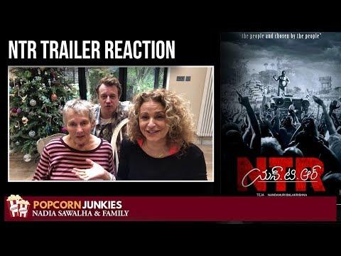 #NTR Official Trailer - Nadia Sawalha & Family Reaction