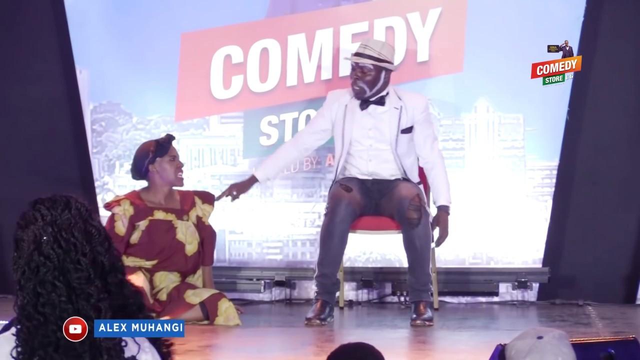 Alex Muhangi Comedy Store March2019 - Jajja Bruce