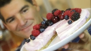 Berry Ripple Cheesecake: A Simple No-bake Dessert | Totally Sacha
