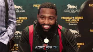 LOL ADRIEN BRONER RESPONDS TO 50 CENT BETTING ON HIM