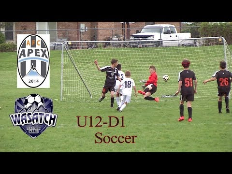 AFC Apex vs Wasatch JS - U12 D1 Soccer