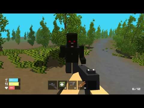Игра Майнкрафт Мир Зомби 3Д