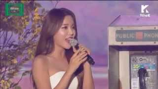 151107 홍진영 Hong Jin Young 【Cheer Up】Cut MelOn Music Awards 2015